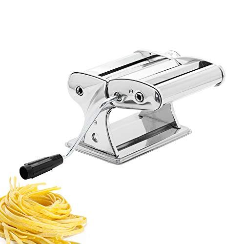 Casa Collection - Macchina per Pasta Fresca Manuale Acciaio Inox