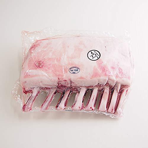 築地魚群 仔羊骨付きロース(ラムラックフレンチ) 約1.2kg ニュージーランド産 冷凍便