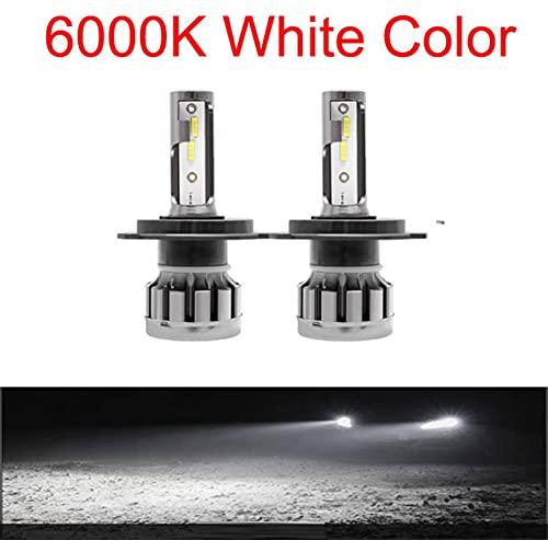 Herramientas neumáticas 80W 6500K 12000LM Turbo H1 H8 H4 H9 LED Lámpara LED 12V Faro Delantero H7 H11 LED Bulbos Super Bright CSP Auto Light 2pcs Herramienta de reparacion