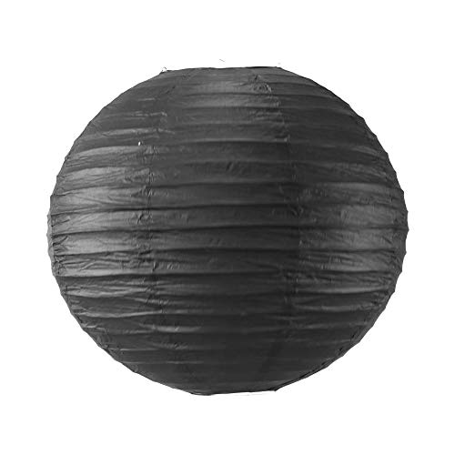 SKYLANTERN Boule Papier 40 cm Noir
