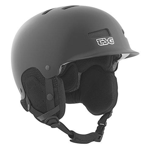 TSG Helm Trophy Solid Color, satin black, S/M