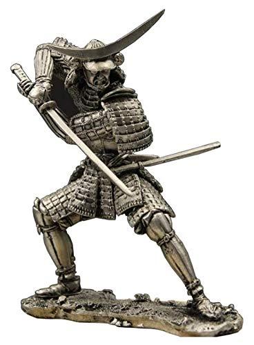 Desktop-Skulptur Krieger Statue Skulptur, alte Soldat Statue Modell Krieger Soldat Skulptur Zinn Metall Handwerk Dekoration Dekoration Zubehör
