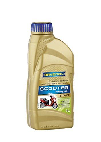 RAVENOL J1V1101 2-Stroke Scooter Oil - Full Synthetic JASO 049RAV153 Approved (1 Liter)