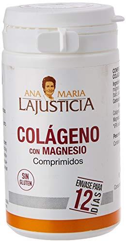 Ana Maria Lajusticia - Colágeno con magnesio – 75 comprimidos articulaciones fuertes y piel tersa. Regenerador de tejidos con colágeno hidrolizado tipo 1 y tipo 2. Envase para 12 días de tratamiento.