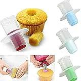 lot de 2 évideurs pour cupcake, muffin - outils de décoration pour gâteaux - ustensiles de cuisine,