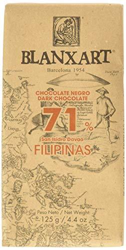 Blanxart Tableta de Chocolate Negro Ecológico - Filipinas 71% Cacao 1 Unidad 125 g