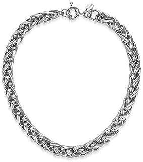 Mestige Women's Silver Lexie Necklace - MSNE3158
