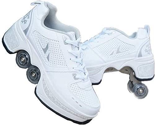 FTYUNWE Zapatos De Cordones para Hombre Conducción Zapatillas Casual Shoes Sneakers,HighTea-38