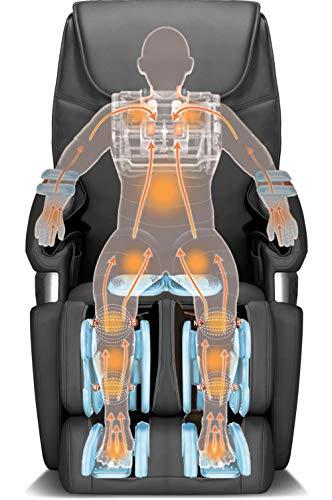 Icomfort Ic6500 Black Massage Chair, 1 Lb