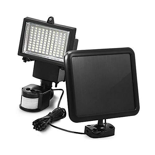 Lepeuxi 100 SMD Diodo emisor de luz Sensor de Movimiento Solar Luz de Seguridad Detector de Pared al Aire Libre Proyector