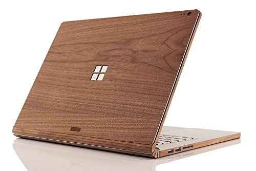 TOAST - Real Wood, Self-Adhesive Cover for Microsoft Surface Book 2 - 13