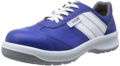 [ミドリ安全] 静電安全靴 エコマーク認定 グリーン購入法適合 スニーカー エコスペック ESG3890 eco 静電 メンズ ブルー 22.0(22cm)