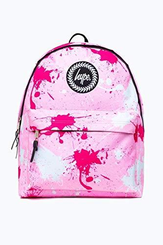 Hype Rucksack Taschen Winter 2018 Rucksäcke - Schultasche - Viele Neue Farben & Designs AW-2018 Sammlung - Wählen Sie Ihr Favorit - Splatter Pink Fuschia White, One Size
