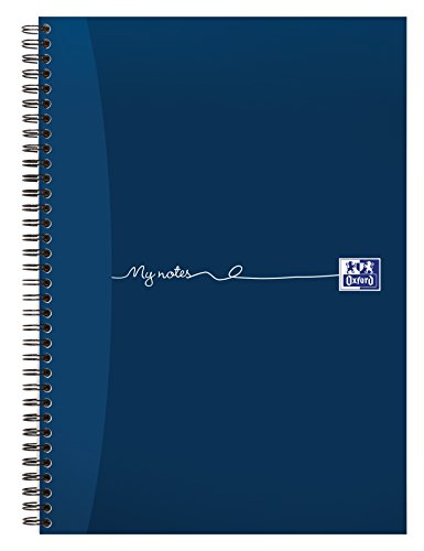 Oxford My Notes, A4 Notebook, Wirebound, Lined, 200 Page, 1 Notebook