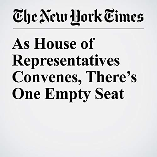 『As House of Representatives Convenes, There's One Empty Seat』のカバーアート