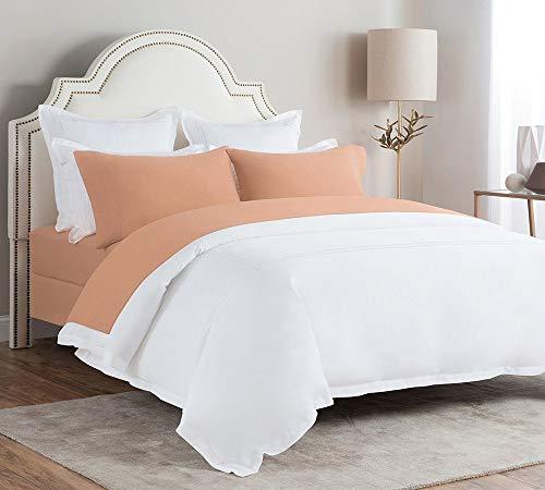 Briarwood Home Super Soft Flannel Sheet Set - Brushed Turkish Cotton Bedding - 150 GSM Super Warm, Deep Pocket & Breathable All Season 4 Piece Sheets & Pillow Set (King, Tan)