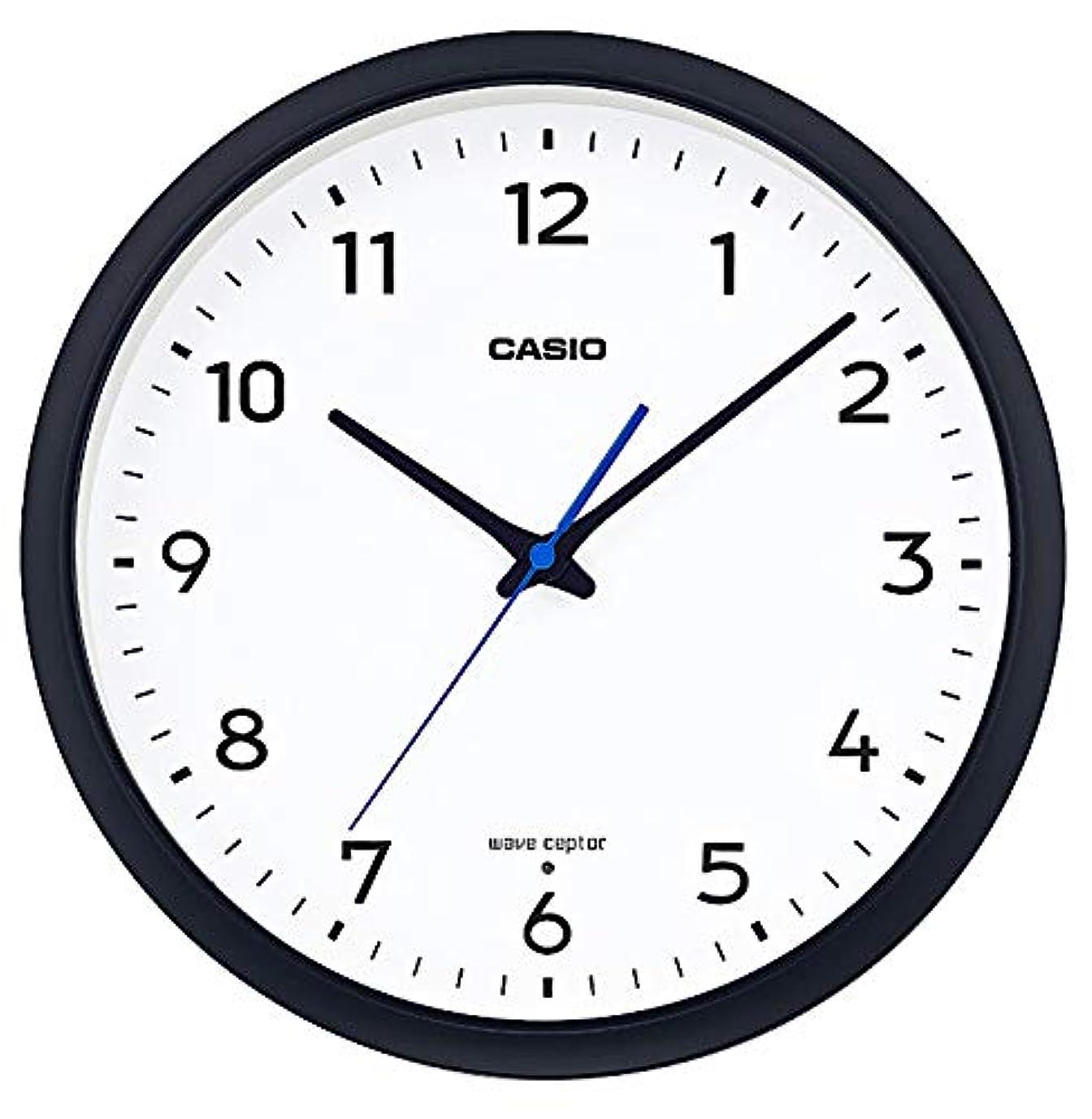 密度持続的悪いCASIO(カシオ) 掛け時計 ブラック 直径31.1㎝ 電波時計 IQ-1013J-1JF