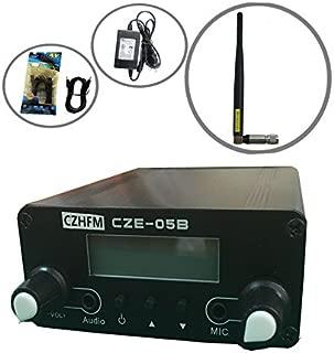 CZH 0.5W CZH-05B/CZE-05B Wireless Long Range Stereo Broadcast FM Transmitter Dual Mode Tnc Antenna Kit