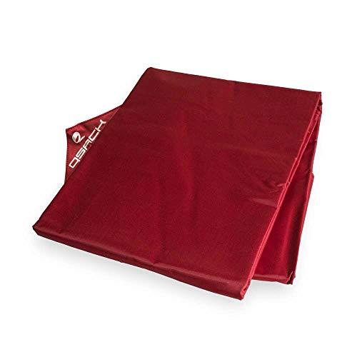 QSack Outdoor Sitzsack XXL Hülle, Bezug, 140x180 cm (rot)