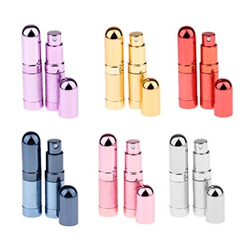Toygogo 12pcs Atomiseur 6ml Rechargeable De Parfum Bouteille Vide Pulvérisateur Pulvérisateur