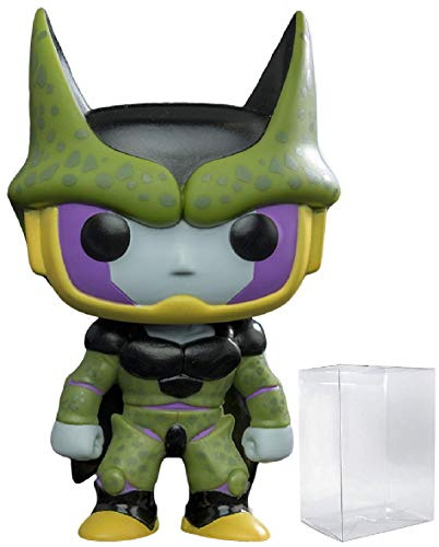Funko Anime: Dragon Ball Z - Perfect Cell Pop! Vinyl Figure (Includes Compatible Pop Box Protector Case)