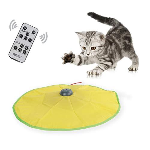Gatto giocattolo gatto miao Undercover Mouse in tessuto e bl-2600Li-Ion ricaricabile