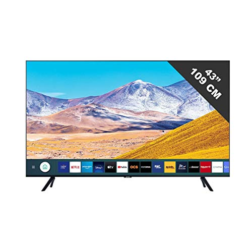 Téléviseur LED 4K Samsung UE43TU8075 108 cm / 43...