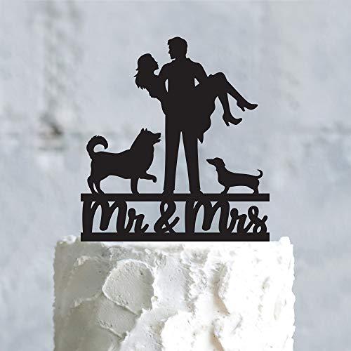 Decoración personalizada para tarta de perro perro perro perro perro perro perro...