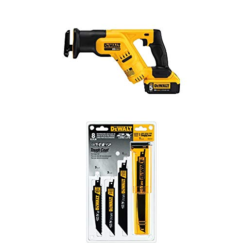 Dewalt 20-Volt Compact Reciprocating Saw Kit