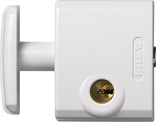Abus FTS 3002 W C - Cerrojo de presión para ventana o puerta corredera blanco blister