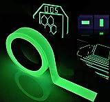 Leuchtendes Klebeband Fluoreszierendes Klebeband Markierungsband, Reastar Phosphor Klebeband...