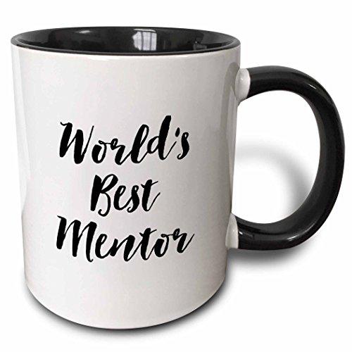 3dRose Phrase-Worlds Best Mentor Ceramic Mug