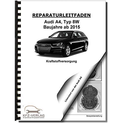 Audi A4 Typ 8W ab 2015 Kraftstoffversorgung Aufbereitung Reparaturanleitung