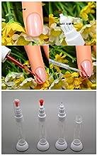 Renovatio Nails - Kimcci Free Shipping Dotted Pen+Drawing Pen Nail Art Tool 2 in 1 Needle Brush Dual-use Nail Polish Pen Empty Bottle 100pcs/Lot