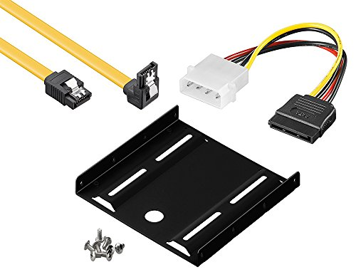 Datenkabel baytronic SATA Kabel Set Dual SATA Kabel Strom
