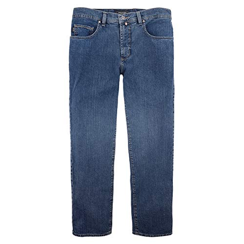 XXL Pionier Stretch-Jeans Peter Stone Washed Blue, deutsche Größe:79