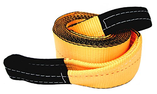 Tanaka 4' Super Duty 35,000 LB Rated Recovery Tow Strap (4' x 30')