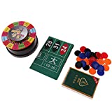 Baoblaze 3 In 1 Powered Roulette Party Roulette Set inklusive