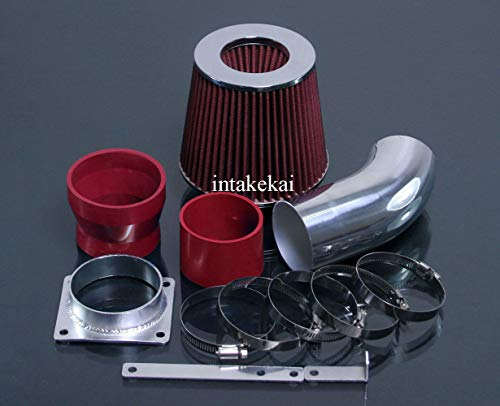 PERFORMANCE AIR INTAKE KIT FIT 2001-2007 FORD ESCAPE 3.0/2001-2004 MAZDA TRIBUTE 3.0L / 2005-2008 MERCURY MARINER 3.0L V6 ENGINE (RED)