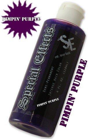 Special Effects Hair Dye -Pimpin' Purple #14