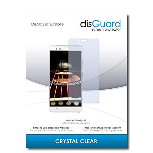 disGuard® Bildschirmschutzfolie [Crystal Clear] kompatibel mit Lenovo K6 Note [2 Stück] Kristallklar, Transparent, Unsichtbar, Extrem Kratzfest, Anti-Fingerabdruck - Panzerglas Folie, Schutzfolie