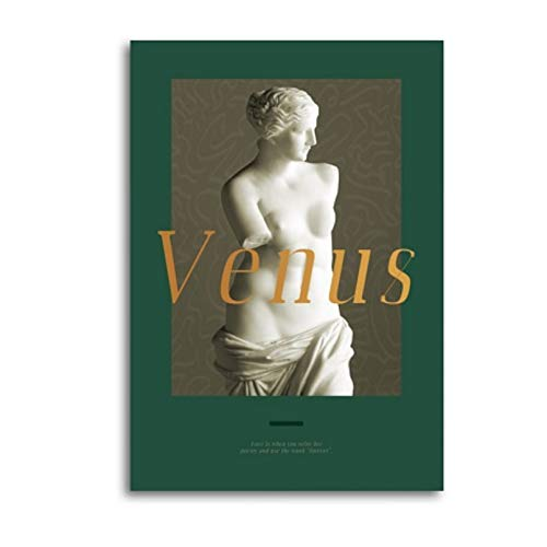 PCCASEWIND Wall Picture Without Frame 50X60Cm- Venus Sculpture Art Canvas Paintings Abstract Geometric Posters And Prints Wall Art Life Art Pictures Living Room Home Decor