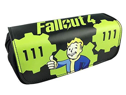 Game Fallout Federmäppchen, Leinen, für Kinder, Schule, Cosplay, Requisite, Geschenktasche, Action-Figur, Spielzeug für Kinder