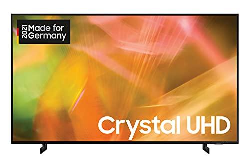 Samsung Crystal UHD 4K TV 65 Zoll (GU65AU8079UXZG), HDR, AirSlim, Dynamic Crystal Color [2021],Nachtschwarz