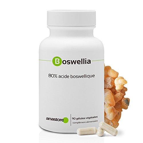 BOSWELLIA SERRATA* 300 mg / 90 gélules * Titré à 80% en acide boswellique * 100% naturel * Anti-inflammatoire naturel puissant, Immunitaire