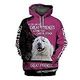 Funny Jacket Sheltie Dog 3D Printed Hoodie,Mens Women Casual Animal Zip Hoodies Streetwear Zip Hoodies M