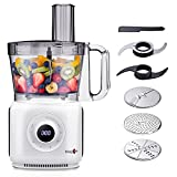 Food Processor - 2021 MAGICCOS 7-in-1 1000W 14 Cup Large...