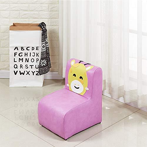 Htimer kinderzitje kleine kinderbank kinderstoel kruk schattige kruk lage kruk eetstoel Purple Giraffe