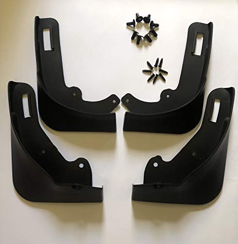 Nansure Mud Flaps for Tesla Model Y Splash Guards Mudguard Mudflaps Car Accessories for Model Y, No Need to Drill Holes