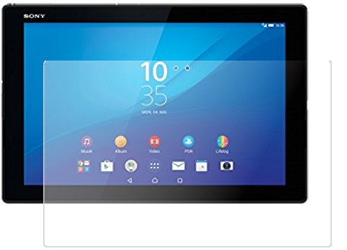 dipos I 2X Protector de Pantalla Mate Compatible con Sony Xperia Z4 Tablet Vidrio Flexible Cristal Proteccion 9H